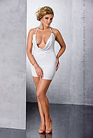 Комплект белья Miracle chemise  white 4XL/5XL - Passion
