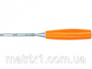 Стамеска, 6 мм, плоская, пластмассовая ручка// SPARTA