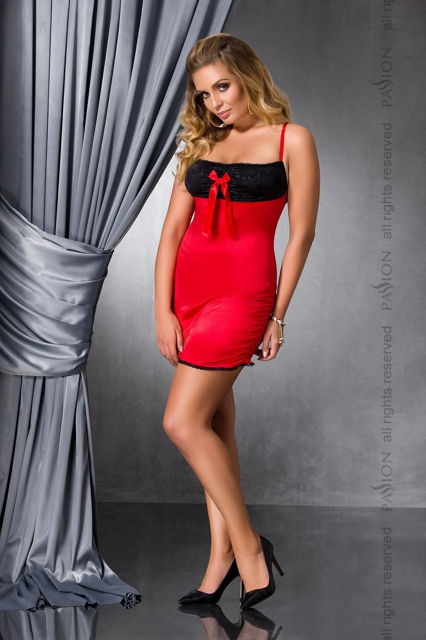 Комплект білизни Lena chemise red 6XL/7XL - Passion
