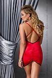 Комплект білизни Lena chemise red 6XL/7XL - Passion, фото 2