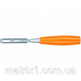 Стамеска, 12 мм, плоская, пластмассовая ручка// SPARTA