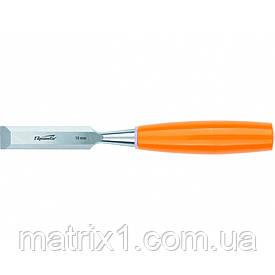 Стамеска, 16 мм, плоская, пластмассовая ручка// SPARTA