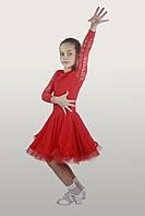 Рейтинговые платья (бейсик) кружево 34, красный