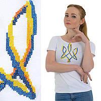 Футболка женская с гербом оптом в Украине. Сравнить цены 9e274e2cabf36