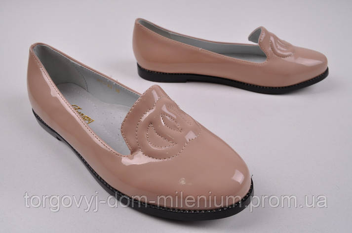 Туфли для девочки Леопард H13-23 Размер:32,35,37, фото 2