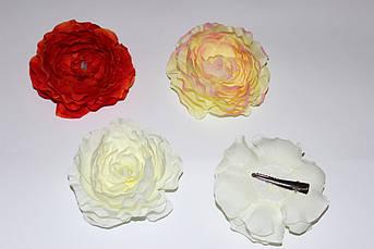 Заколка лапка для волос Роза