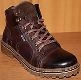 Мужские ботинки зимние на шнурках от производителя ГК-2, фото 2