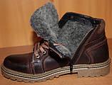 Мужские ботинки зимние на шнурках от производителя ГК-2, фото 5