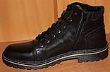 Мужские ботинки зимние на шнурках от производителя ГК-2, фото 8