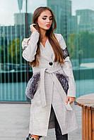 Шикарное дизайнерское пальто, фото 1