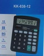 Калькулятор электронный KK 838-12, настольный 12-разрядный калькулятор