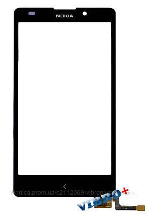 Тачскрин (сенсор) Nokia XL Dual Sim RM-1030 ORIG, black (черный), фото 2