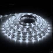 Светодиодная лента LED 3528 White 60 12V без силикона