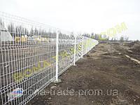 Забор из оцинкованной проволоки