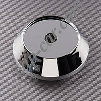 Колпачки заглушки для литых дисков хромированный конус 57/65мм