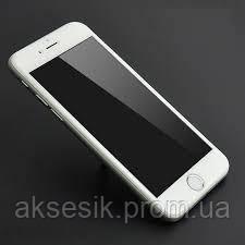 Противоударное cтекло iPhone 6 Plus 5D White