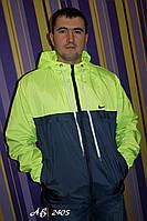 Ветровка мужская Nike на флисе, в розницу и оптом