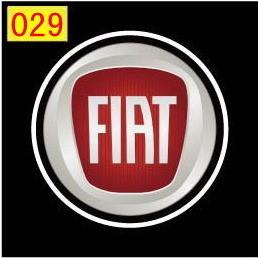 Светодиодные проекторы FIAT в дверь 4-го поколения shadow light MC-04