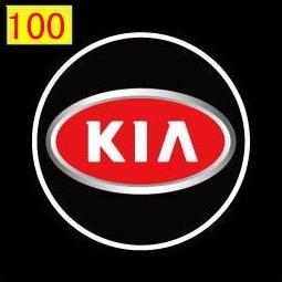 Светодиодные проекторы KIA в дверь 4-го поколения shadow light MC-04