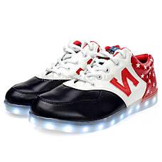 LEd кроссовки Америка буква N на шнурках 5114, фото 2