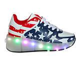 Светящиеся кроссовки на батарейках