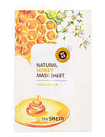"The Saem Natural Sheet - Тканевая маска с натуральным экстрактом ""Мед"", 20 мл"