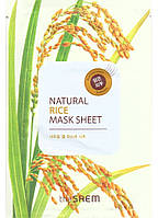 "The Saem Natural Sheet - Тканевая маска с натуральным экстрактом ""Рис"", 20 мл"