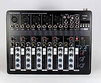 Аудио микшер Mixer BT7000 7ch., микшерный пульт