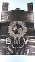 Пакеты майка 43см 75см БМВ Киев черный (50 шт)