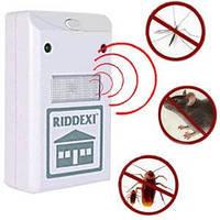 Ультразвуковой отпугиватель мышей, крыс и насекомых RIDDEX