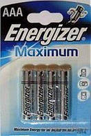 Батарейка Energizer LR03 Maximum 1*4 блистер