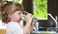 Дети должны пить воду