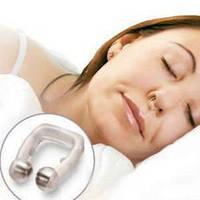Спокойный сон без храпа – магнитная клипса антихрап Snore Free Nose Clip, силиконовая, с магнитами