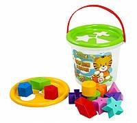 Развивающая игрушка Волшебное ведерко 15 элементов (39135)