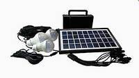 GDLITE GD-8006-A Зарядное Устройство От Солнечной Батареи + Лампа-Фонарь
