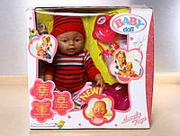 Пупс кукла Baby Born Бейби Борн Мой малыш новорожденный с аксессуарами