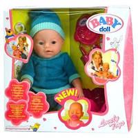 Кукла интерактивная Пупс Baby Doll (Беби Долл) 9 функций, аналог baby born(бэби борн, беби борн)