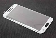 Защитное стекло на дисплей для Samsung G925 (S6 Edge) 3D White Full Screen Glass