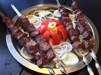 Электрошашлычница для приготовления мяса и овощей BBQ