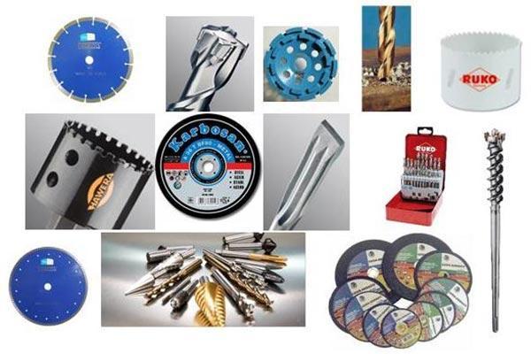 Расходные материалы, приспособления для работы электроинструмента