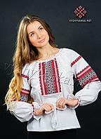 Жін. сорочка, нашивка ткана, батист, 54
