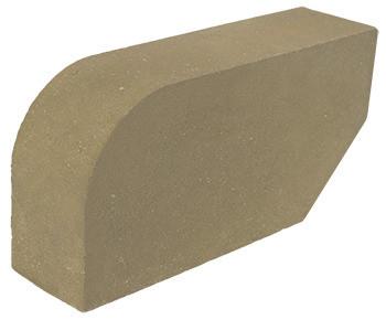 кирпич угловой фасонный