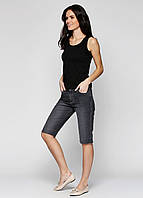 Черные джинсовые шорты женские Miss
