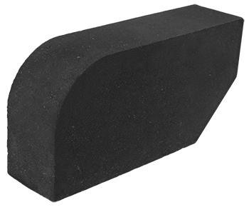 фасонный кирпич черный