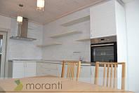 Кухня с фасадами ДСП Гасиенда Белый Н3078, фото 1