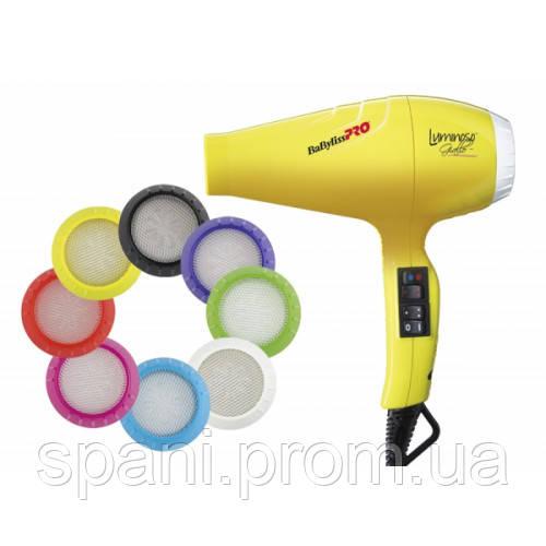 Профессиональный фен BaByliss PRO BAB6350IYE Luminoso Giallo Ionic