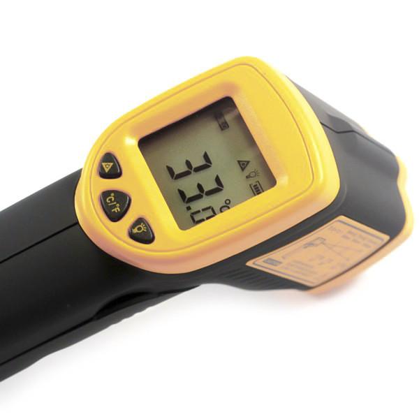 Цифровой бесконтактный инфракрасный термометр пирометр  AR360A - Строительные, отделочные инструменты, крепежный, механический инструмент - NEO-TOPEX в Киеве