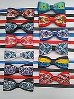Бабочка - галстук для маленьких джентльменов в украинском стиле.
