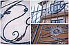 Балконные кованые ограждения