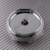 Ковпачки заглушки для литих дисків хромований циліндр 66/62мм